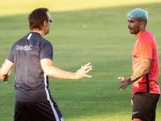El Sevilla volvió a la normalidad. EFE