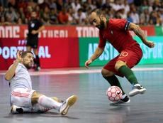 España tumba a Portugal en su primera prueba. EFE