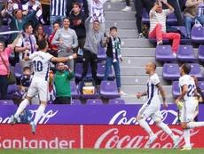 Plano destacó la madurez del Valladolid. EFE/R.Garcia