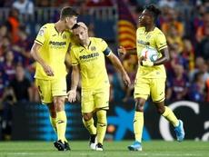 El esguince sigue dando problemas a Cazorla, que no estará ante el Atlético. EFE
