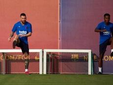 Los niños tendrán protagonismo junto a Leo Messi. EFE