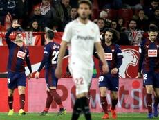 El Eibar, preocupado por la falta de puntería de sus delanteros. EFE