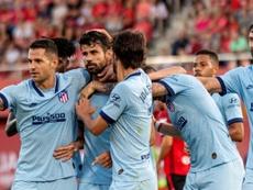Atlético vence contra adversário que volta à primeira divisão após 6 anos. EFE/Cati Cladera