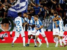 El Leganés podría hacer historia en LaLiga. EFE