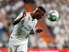 Lucas Vazquez returns to the list, Vinicius left out. EFE/Archivo