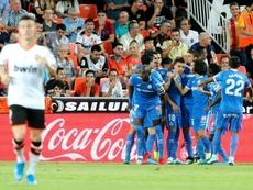 Ataque de nervios en Mestalla. EFE