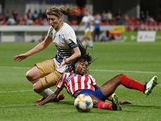 El Atleti Femenino volvió a tropezar. EFE/Archivo