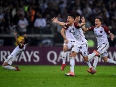 Colón ganó 2-1 a Godoy Cruz y el 'Pulga' Rodríguez es duda para la final de la Sudamericana. EFE