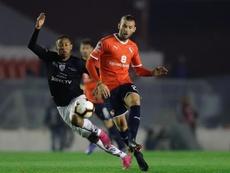 Gastón Silva (d) no jugará en México. EFE/Archivo
