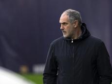 Zubizarreta quiere potenciar la delantera del Olympique de Marsella. EFE/Archivo