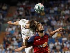 Nacho lleva toda su vida en el Real Madrid. EFE