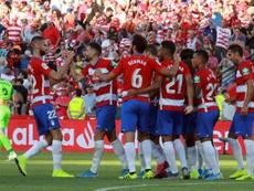 El Granada buscará el liderato sin Neyder, Quini ni Fede Vico. EFE/Pepe Torres