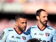 Alves, cara visible también publicitaria de Sao Paulo. EFE