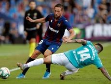 Por eso no participó en el partido del domingo ante el Athletic. EFE