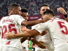 El Sevilla ganó el duelo ante la Real Sociedad. EFE/Raúl Caro