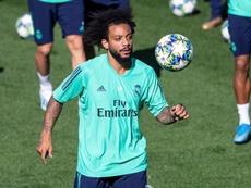 Marcelo não jogará o próximo jogo do Madrid. EFE/ Rodrigo Jiménez