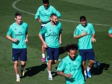 Gareth Bale and Hazard have both failed to impress. EFE