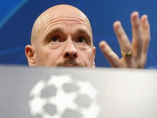 Thrilled Ajax coach Ten Hag still sees scope for improvement. AFP