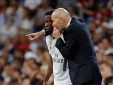 Vuelve la segunda unidad de Zidane. EFE