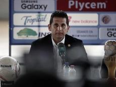 Ronald González analizó a Costa Rica. EFE