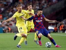 Les onze probables de Barça - Villarreal. EFE