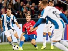 CSKA y Espanyol se vaciaron en Moscú. CSKAdeMoscú