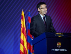 Bartomeu balaye l'actualité du FC Barcelone. AFP