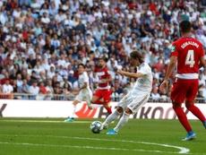 El Inter de Milan y el Inter Miami pujan por Modric. EFE/Juan Carlos Hidalgo