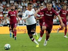 El Valencia gana y Mestalla se acostumbra a sufrir. EFE