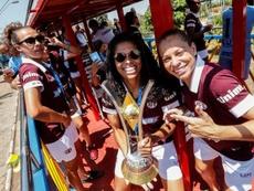 O time feminino da Ferroviária de Araraquara é o atual campeão brasileiro. EFE/ Sebastião Moreira