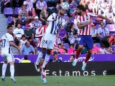 Costa pasó más a Oblak que a Félix y Morata. EFE
