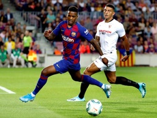Segurola analizó la victoria del Barça. EFE