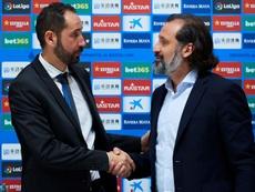 Machín se unió hace poco a las filas del Espanyol. EFE