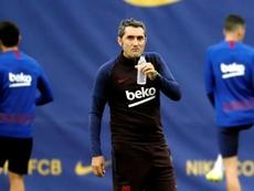 Valverde recupera a sua fortaleza. EFE