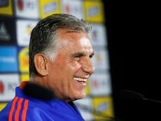 Carlos Queiroz ironizó sobre la ausencia de Radamel Falcao. EFE
