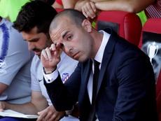 El Atleti se metió en la final tras superar al Barça en los penaltis. EFE