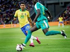 Les Lions de la Téranga tiennent bon et neutralisent le Brésil. EFE