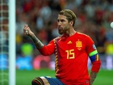 La sélection Olympique accepterait Sergio Ramos à bras ouverts. EFE/Rodrigo Jiménez/Archivo