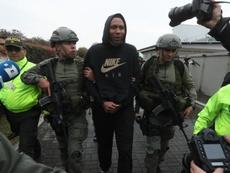 Jhon Viáfara (c) será extraditado a Estados Unidos. EFE/Archivo