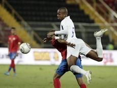 Costa Rica sufre y remonta. EFE