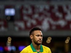 Neymar la lió en Instagram con Tite. EFE