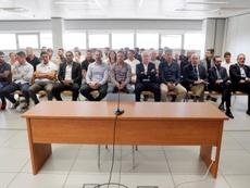 Continúa el juicio por el partido entre el Levante y el Zaragoza amañado. EFE