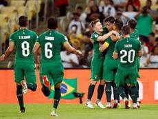 El Salvador jugará ante Bolivia. EFE/Antonio Lacerda/Archivo