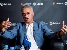 José Mourinho critica demissão de compatriota. EFE/Rodrigo Jiménez