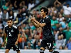 Macías discussed his goal drought for Chivas. EFE/José Méndez