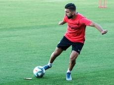 West ham veut l'attaquqnt du FC Seville. EFE/Raúl Caro/Archivo