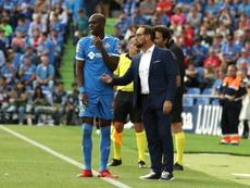 Nyom no sufre ninguna lesión y se medirá al Granada. EFE