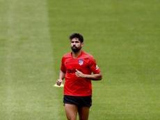 Las lesiones han marcado a Diego Costa desde que volvió al Atlético. EFE