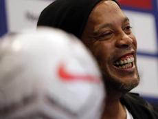 Palabra de Ronaldinho: Vinicius será uno de los mejores del mundo. EFE