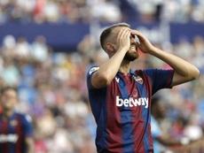 Le Celta se renseigne pour Borja Mayoral. EFE